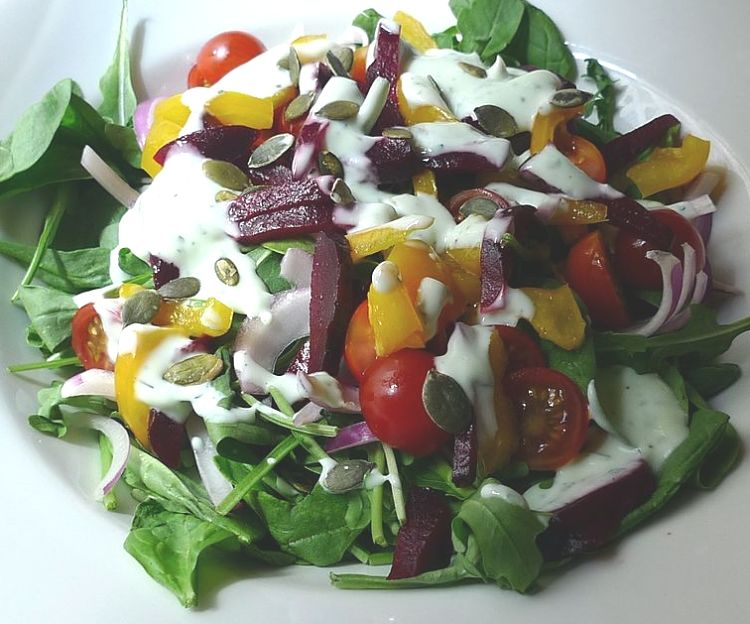 Pepitas add crunch, taste and boost the nutrients in salads .