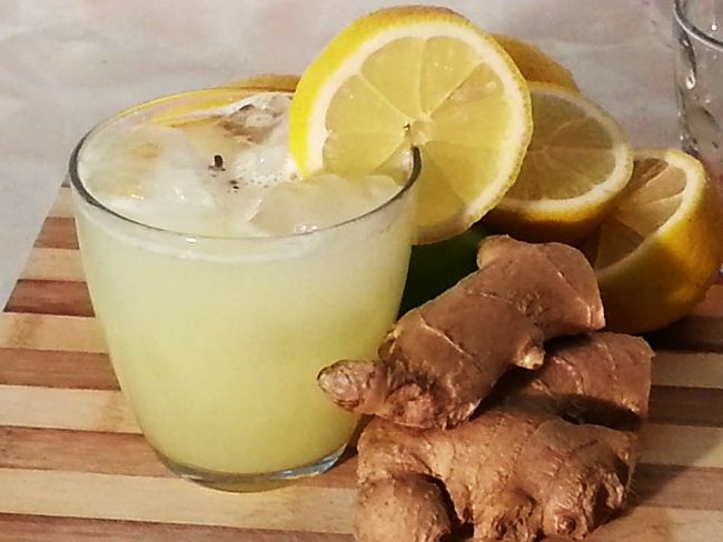 Fresh ginger has more aroma and 'zing' than dry ginger and lemons add acidity to counter the sweetness of the sugar