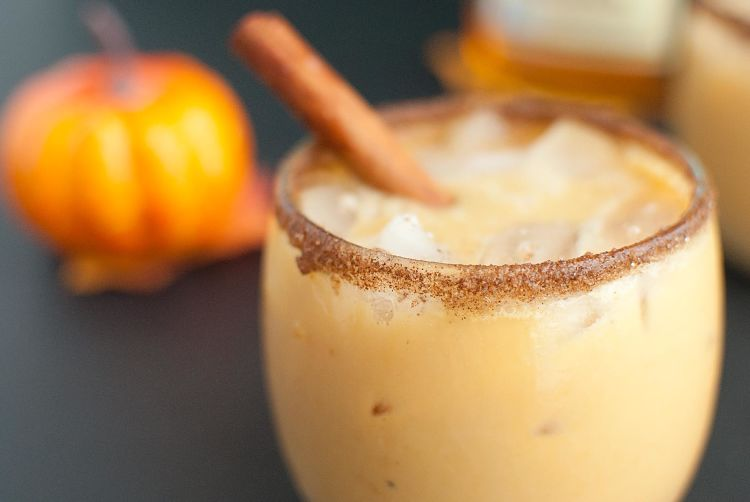 Spiked Pumpkin and Spice Horchata-Slim