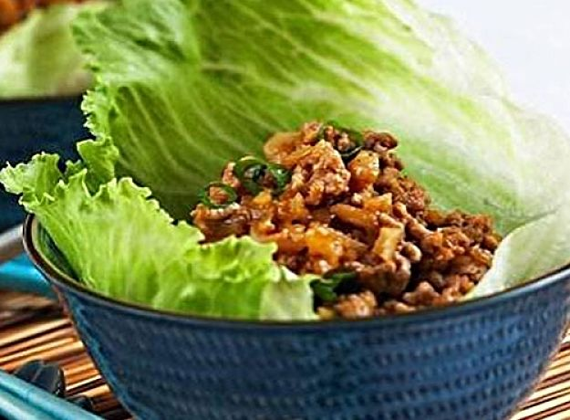 Seafood San choy bau is good to try as a variation to pork mince, especially with added herbs
