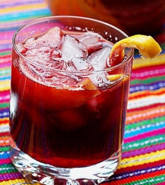 Ah! - homemade Sangria - what a refreshing delight - learn how to make it here.