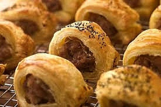 Homemade sausage rolls are so much healthier than commercial versions as the ingredients are controlled and healthy