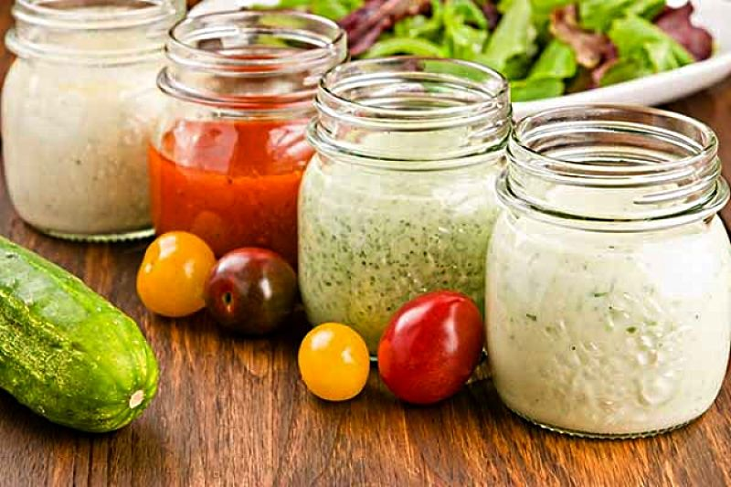You can made so many different varieties of dressings for various dishes and salad types