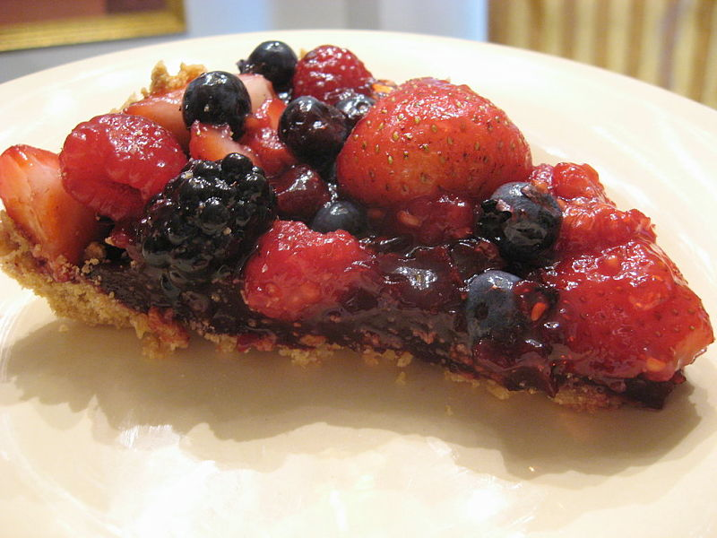 Berry pile - Simple, but very tasty.