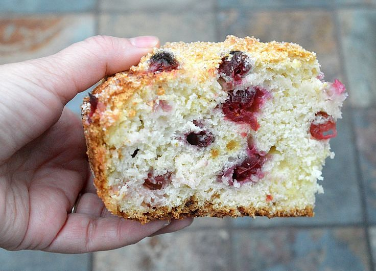 Cranberry Irish Soda Bread, which showcases the delights of fresh home cooked bread and the joys of cranberries
