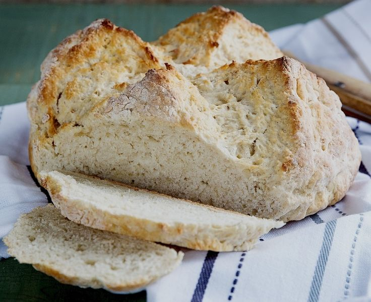 Classic white soda bread - see the great recipe in this article