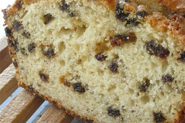 Softer American soda bread recipe with sultanas and a little oil