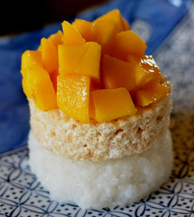 Delicious sticky rice dessert - learn how to make this delightful dish here
