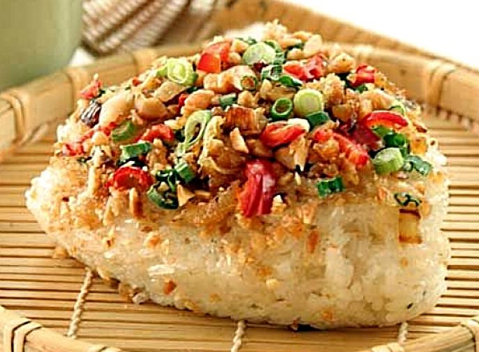 Learn to make wonderful savory sticky rice recipes here