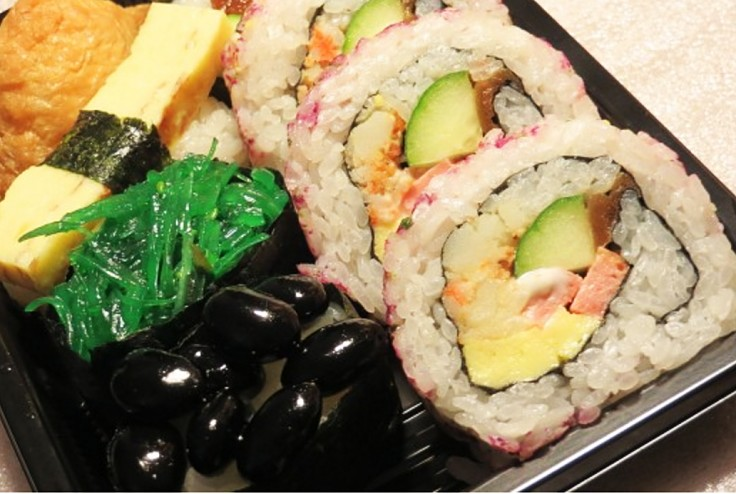 Vegetatian sushi rolls are easy to make and delicious