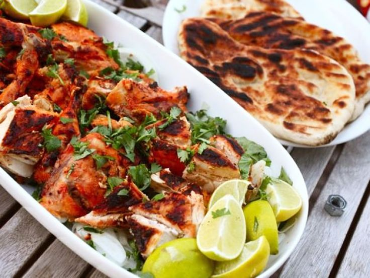 Mixed meat Tandoori platter is a great dish for a party of barbecue with friends