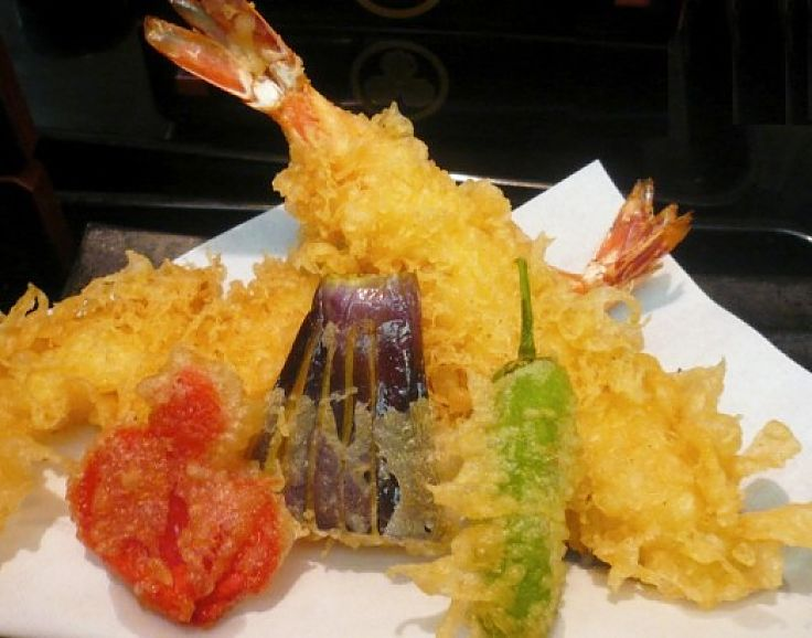 Tempura is a delight both for fish, prawns, scallops, other seafood and vegetables.