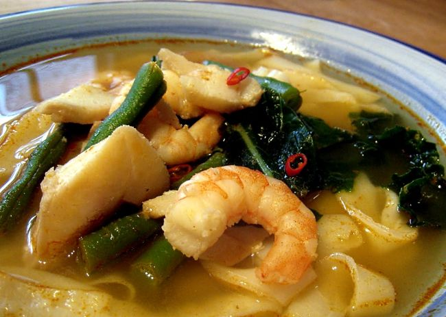 Seafood is a fabulous option for Tom Yum Soups - See the fabulous collection of recipes for homemade Tom Yum soup
