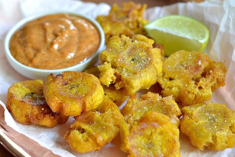 Tostones make a great side dish at parties