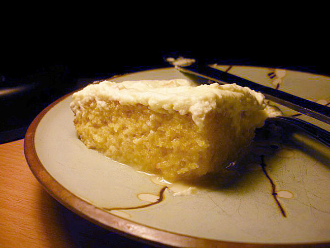 Tres Leches Dessert Cake (Three milks cake) is a rich cake that goes will with a variety of fresh fruits