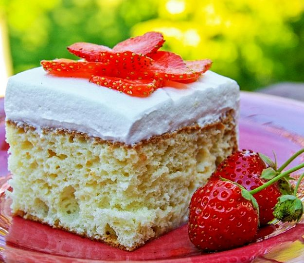 Desserts are a wonderful way to finish a lovely meal. See the an easy Tres Leches Recipe.