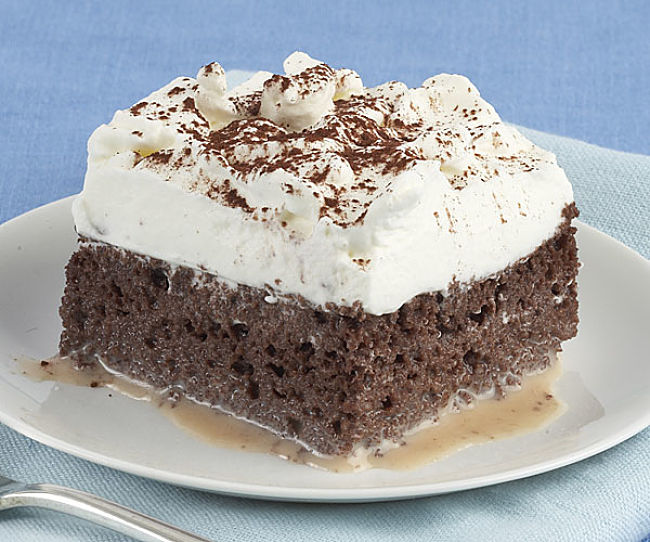 Chocolate Tres Leches Cake - see how to make it here