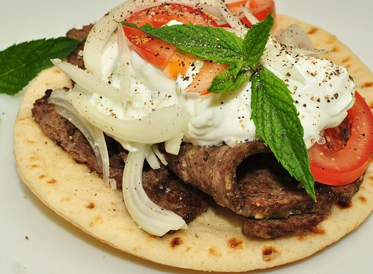 Tzatziki is a must for many flat bread recipes and is an ideal side dish,