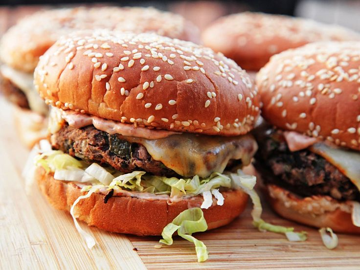 The sauce is what really sets off a delicious veggie burger - see more information here