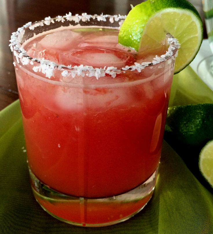 The sweetness and texture of the watermelon provide a unique and different Margarita. See various recipes here.