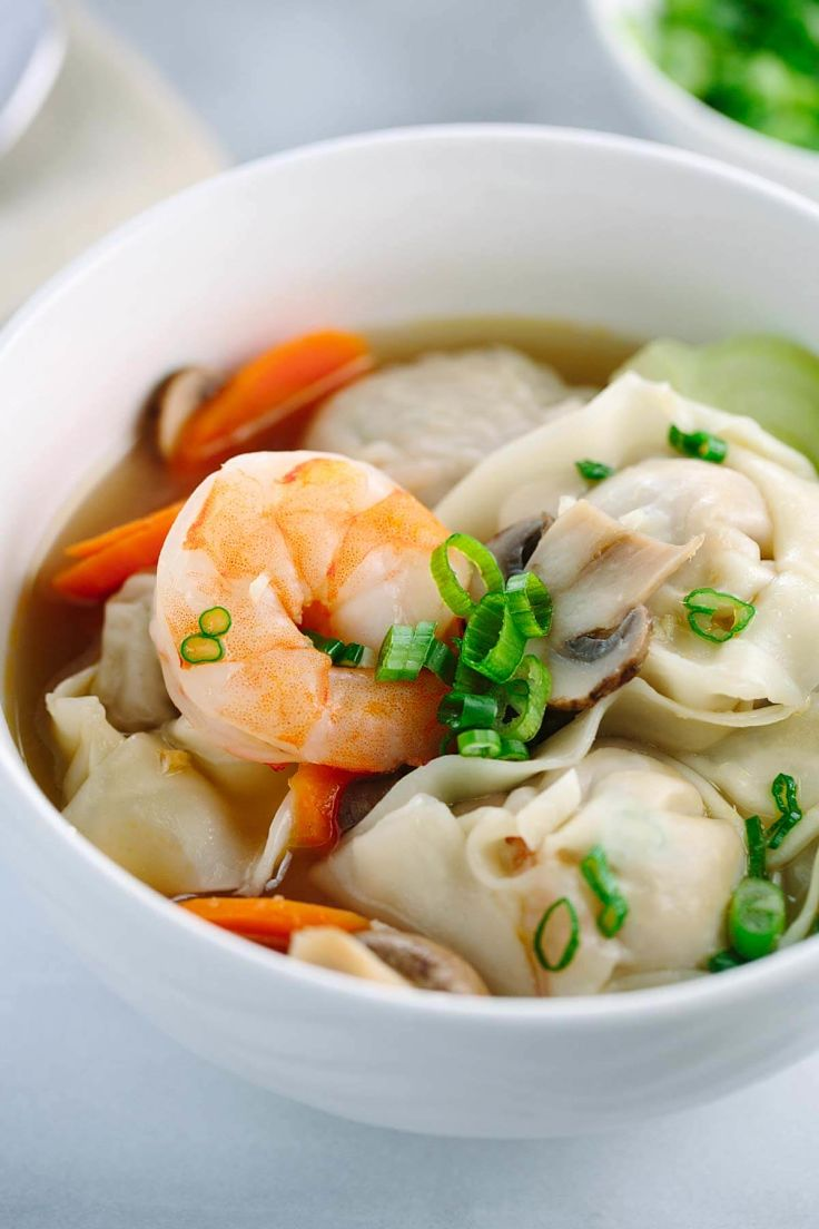 Add prawn and fish pieces to boost the taste of wonton soup made just the way you like it using this guide and recipes