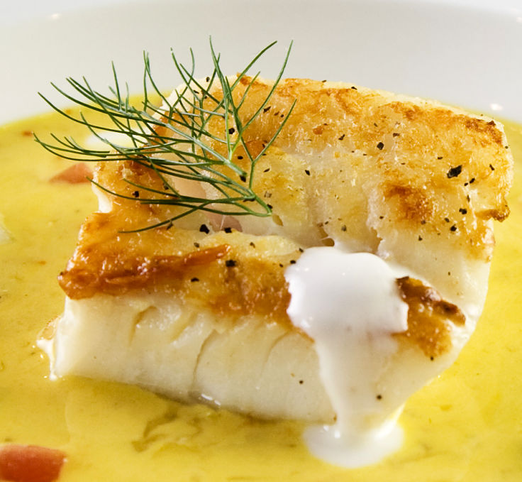 White sauce adds that perfect touch to fish and other seafood