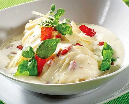 White sauce is very versatile for both sweet and savory dishes